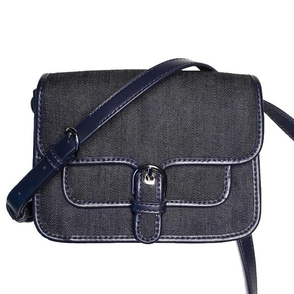 e7b1a336cde9 Michael Kors Bags | Cooper Small Crossbody Dark Denim | Poshmark
